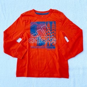 Adidas Long Sleeve Shirt Size 4 NWT